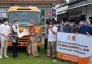Novita Gerindra Serahkan Bantuan Bus Sekolah di Dua Ponpes Ini